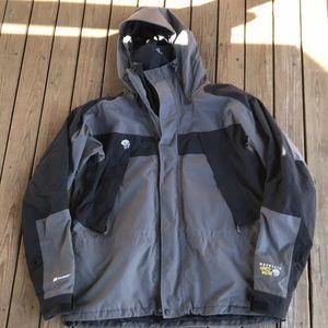 Mountain Hardwear conduit ski jacket shell large